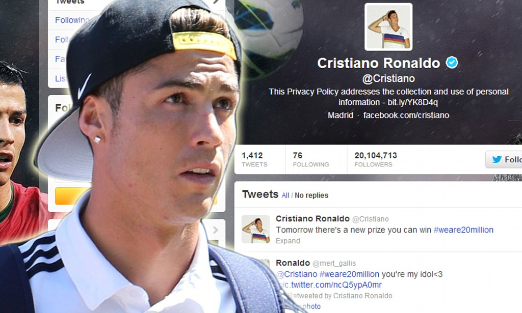 Image result for cristiano ronaldo on twitter